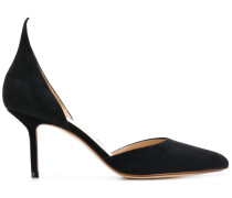 pointed high-heel pumps