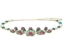 floral embellished necklace