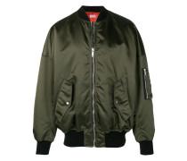 relaxed bomber jacket