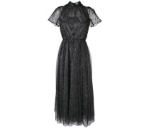 Kleid mit Glitter-Finish