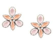Sadie Orchid Ballet stud earrings