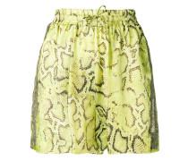 Shorts mit Schlangen-Print