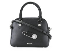 Handtasche mit Sicherheitsnadel
