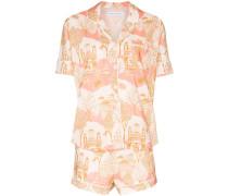 "Pyjama mit ""Pahari""-Print"