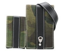 Gürteltasche mit Camouflage-Print