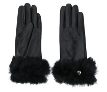 Handschuhe mit Faux Fur