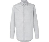 patterned poplin shirt