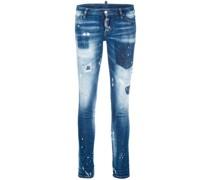 'Jennifer' Distressed-Jeans