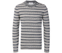 Sanquhar stripe jumper