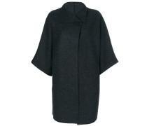 Oversized-Jacke mit Dreiviertelarm