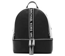 Rucksack mit Logo-Streifen
