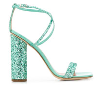 sequinned Atollo sandals