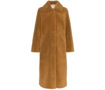 'Gilberte' Teddy-Mantel aus Faux Fur