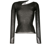 Top mit Cut-Out