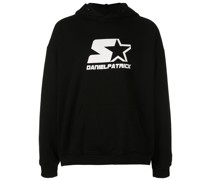 starter logo hooded sweatshirt