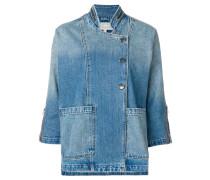 Jeansjacke mit Dreiviertelärmeln