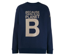 Sweatshirt mit Slogan-Print