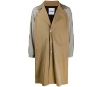 Trenchcoat in Colour-Block-Optik