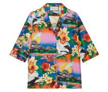 Hawaiihemd aus Seide