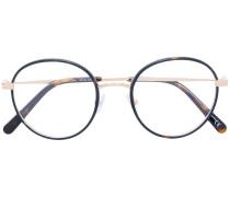 round frame thin rim glasses