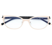 Brille im Cat-Eye-Design
