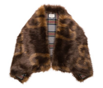Faux-Fur-Schal mit GG