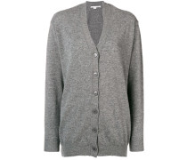 front button long cardigan
