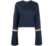 Sweatshirt mit Regenbogenstreifen