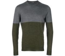 Kontrastierendes Sweatshirt