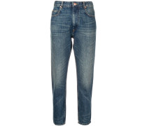 Taillenhohe Jeans