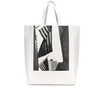 Handtasche mit US-Flaggen-Print