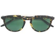 tortoiseshell double top bar sunglasses