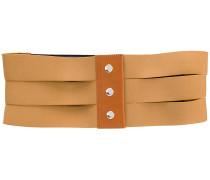 wide cutout belt