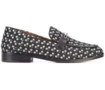Loafer mit Gänseblümchenmuster