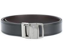 embossed buckle belt
