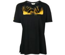 'Bag Bugs' T-Shirt mit Fuchspelzakzenten