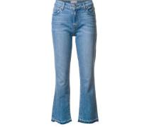 'Gia' Jeans mit ausgefranstem Saum