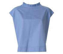 Bluse mit Knopfleiste am Rücken