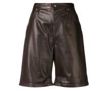 knee-length biker shorts