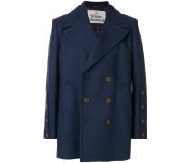 Mantel mit großem Revers