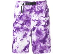 Shorts mit Batikmuster