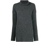 speckled-knit jumper