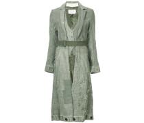 long distressed duffle coat
