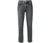 Skinny-Jeans mit Perlen