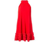 ruffle trimmed dress