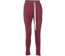 slim-fit track trousers