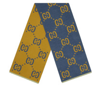 Jacquard-Schal mit GG