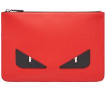 Bag Bugs-appliqué pouch