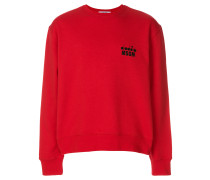 X Diadora branded sweatshirt