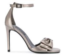 Stiletto-Sandalen mit Schleife